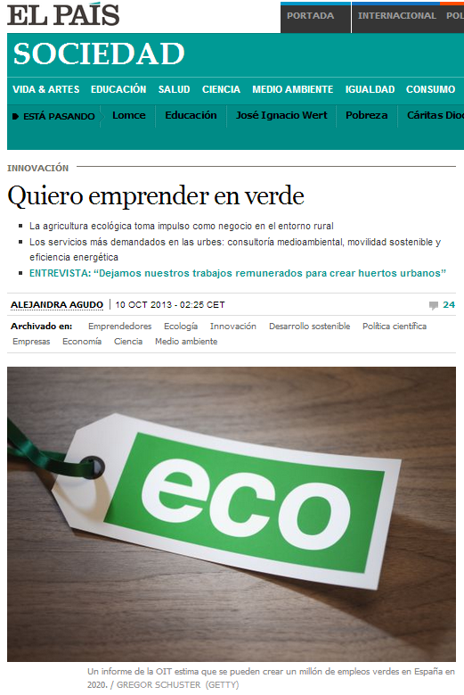 ElPais_QuieroEmprenderEnVerde_10oct2013